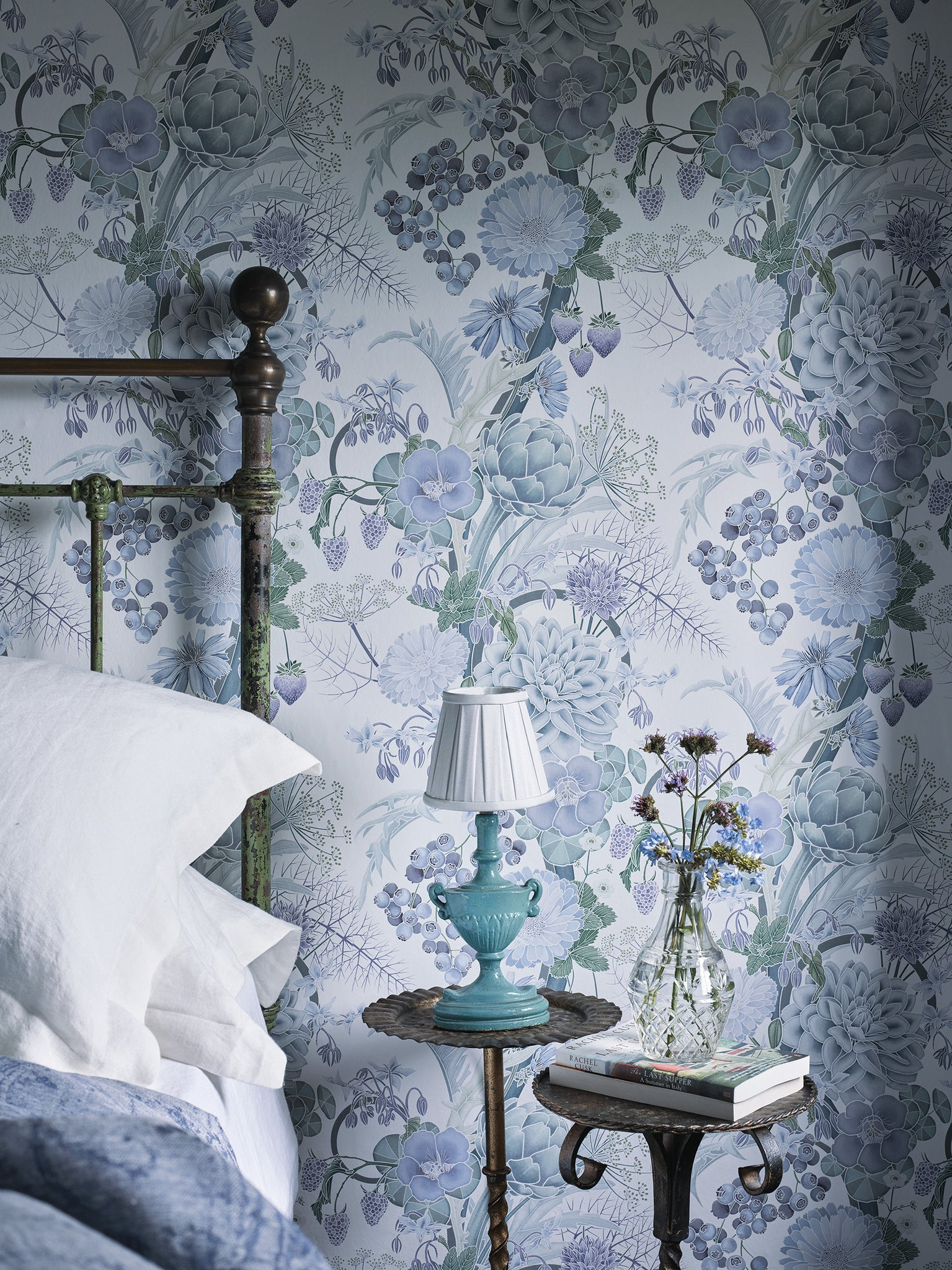 Carlotta Wallpaper Manarola Collection O&L Mister Smith Interiors