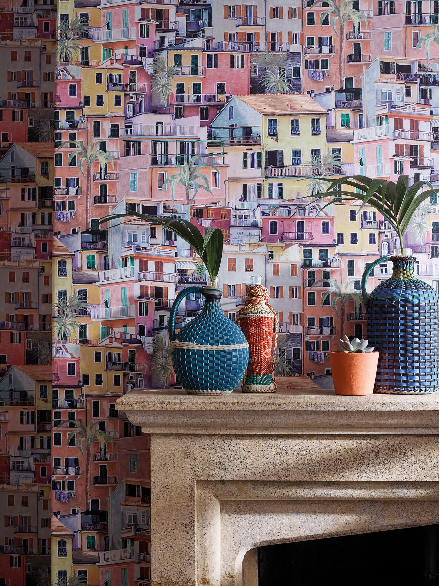 Portovenere Wallpaper by O&L for Mister Smith Interiors