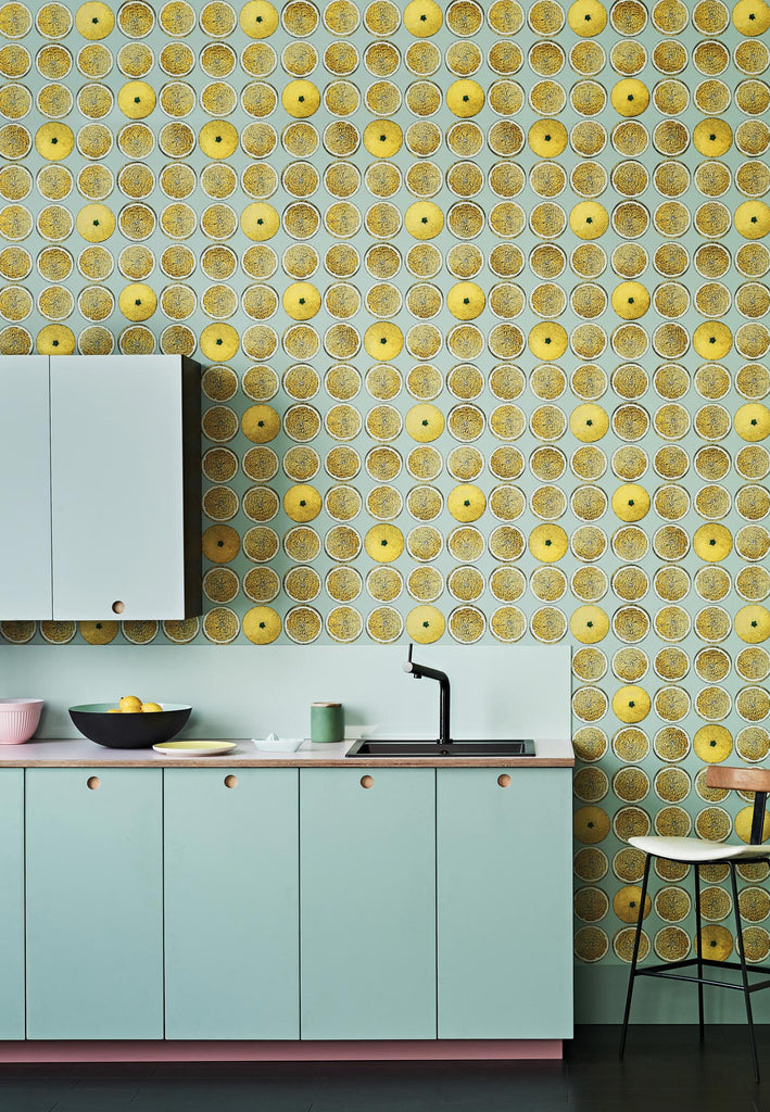 Arance Wallpaper by Fornasetti