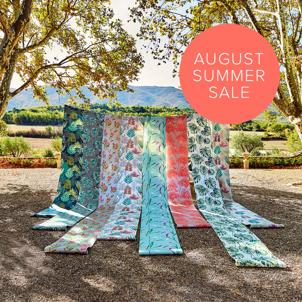 August Summer Sale Poster