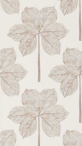 Lovers Knot Wallpaper - Ivory - Harlequin