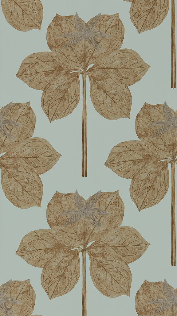 Lovers Knot Wallpaper - Russet - Harlequin