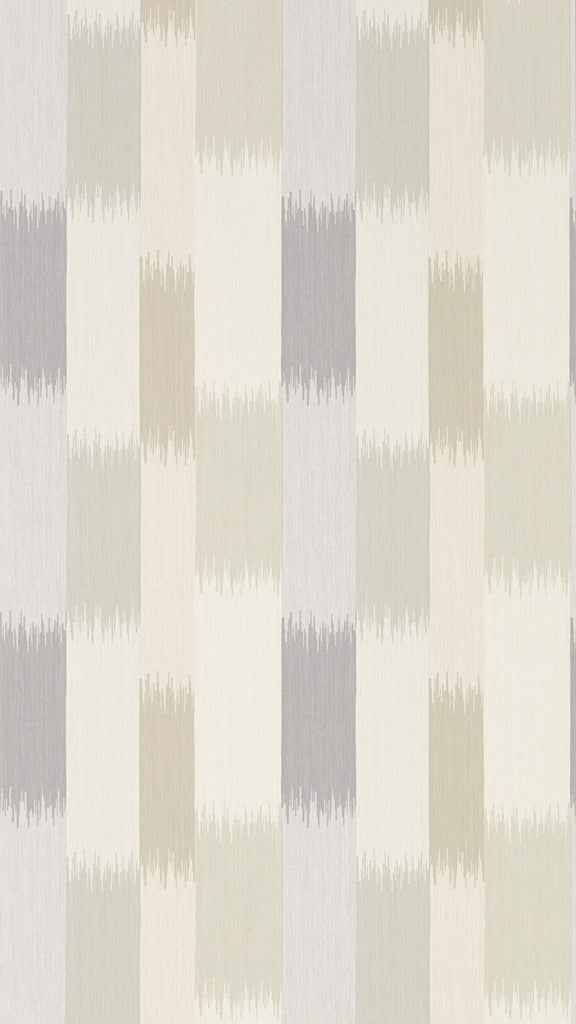 Utto Wallpaper - Mist/Fawn/Mulberry - Harlequin