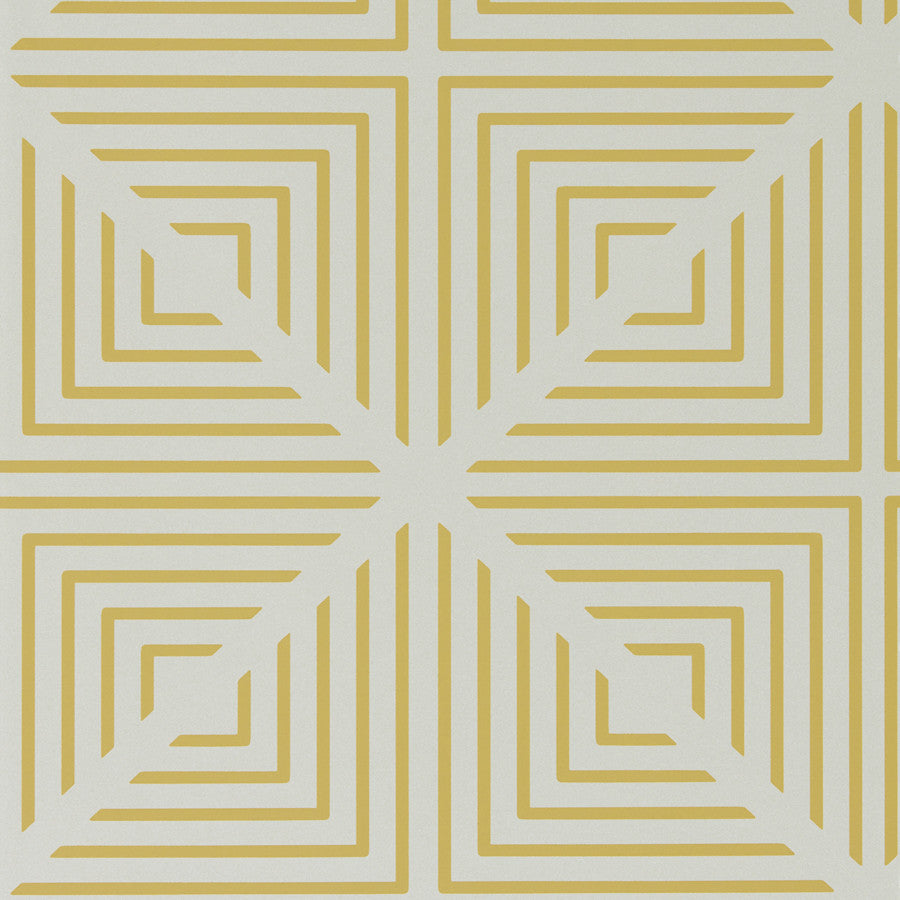 Radial Wallpaper - Linen/Chalk - Harlequin