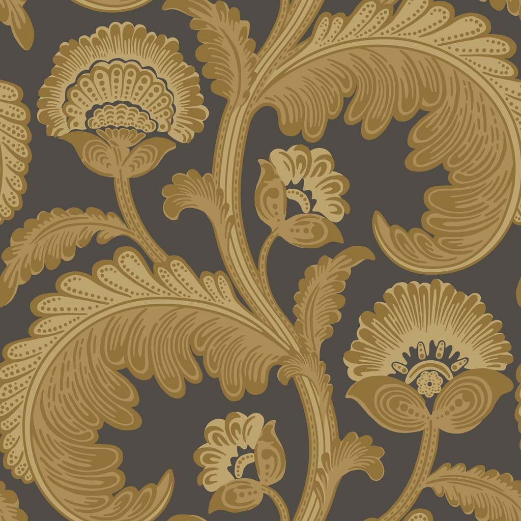Mister Smith Interiors Cole & Son Fanfare Flock Wallpaper