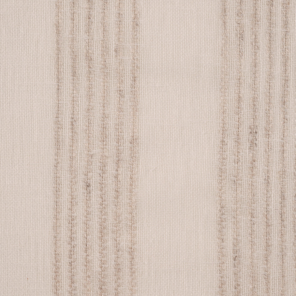 Purity Voiles Wide Stripe - Cream - Harlequin