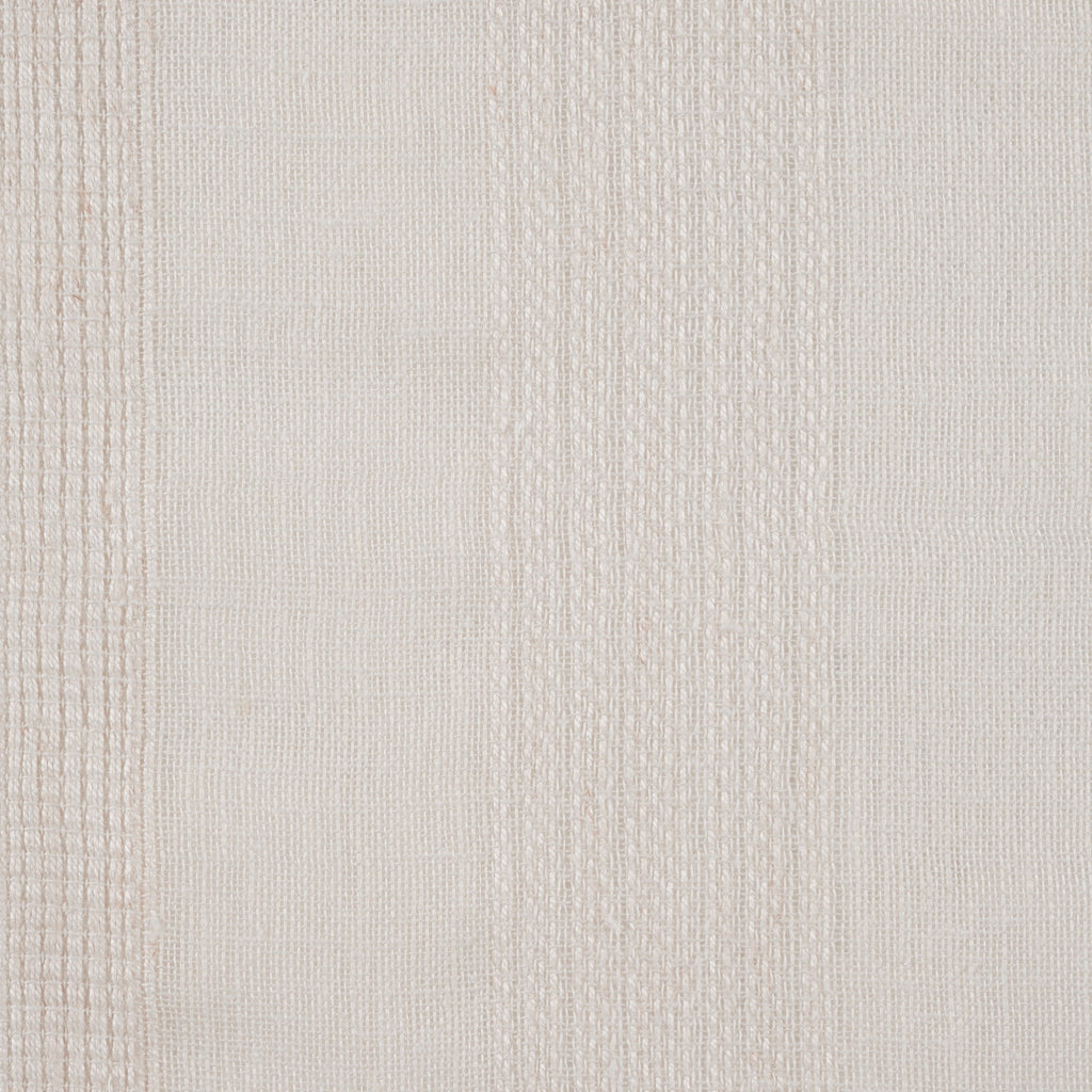 Purity Voiles Wide Stripe - Flax - Harlequin