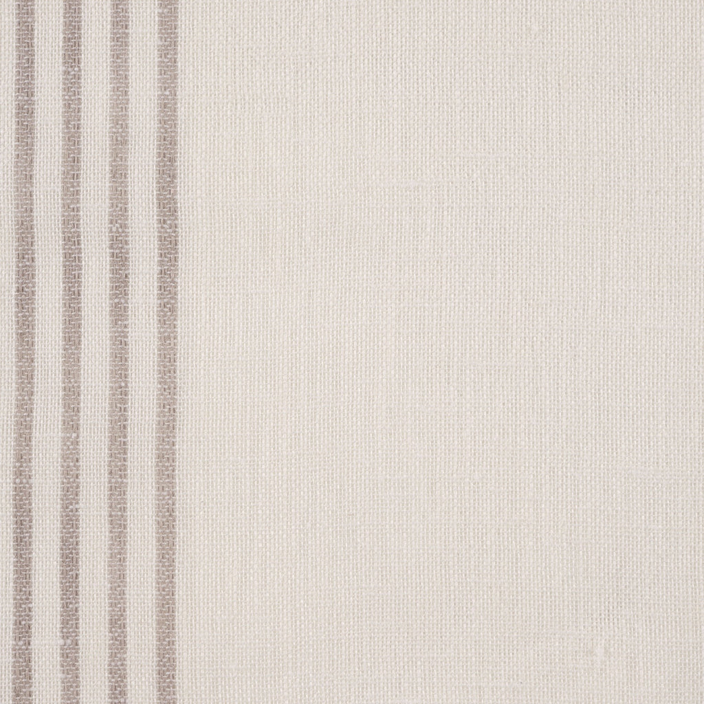 Purity Voiles Wide Stripe - Pebble/Ivory - Harlequin
