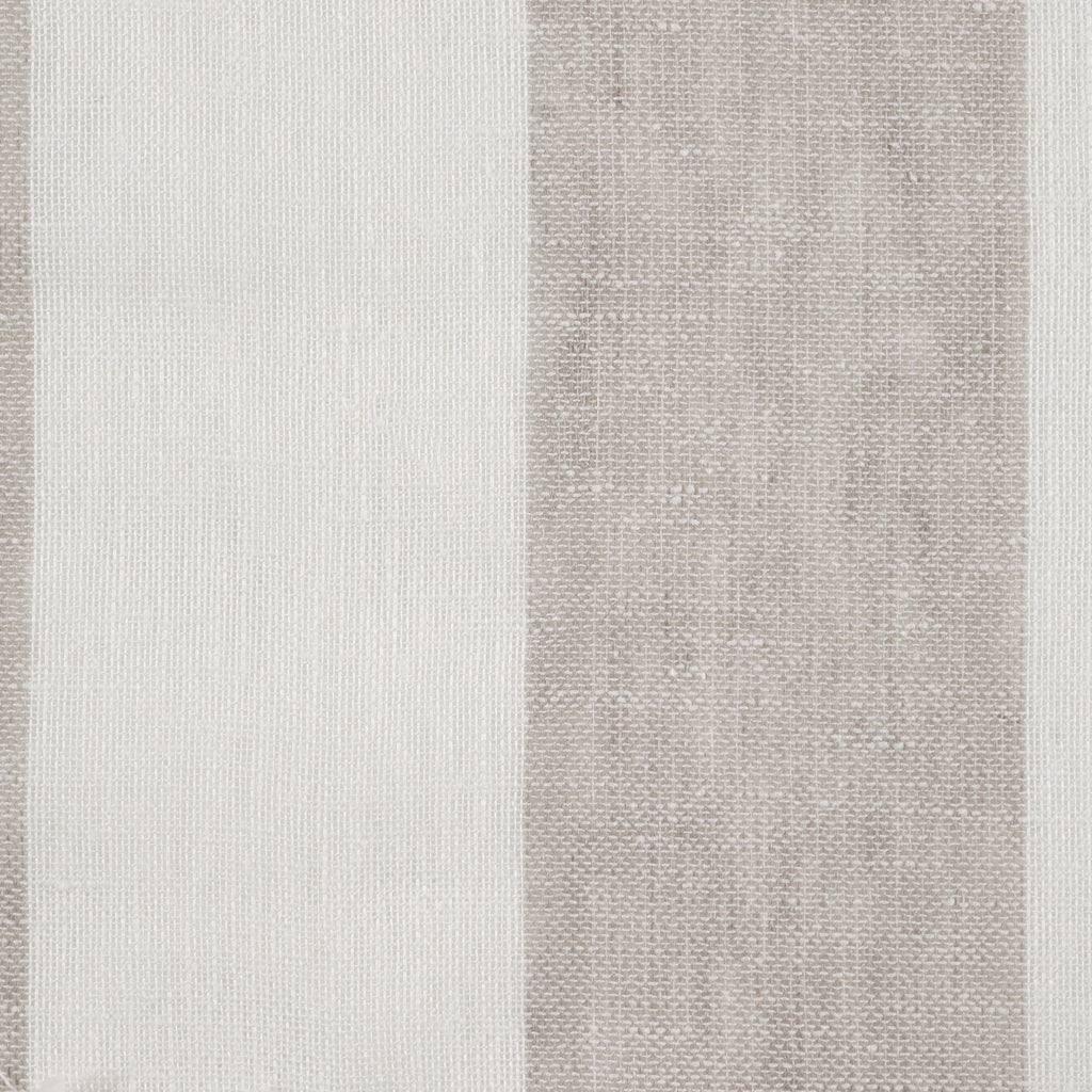 Purity Voiles Wide Stripe - Dove/Ivory - Harlequin