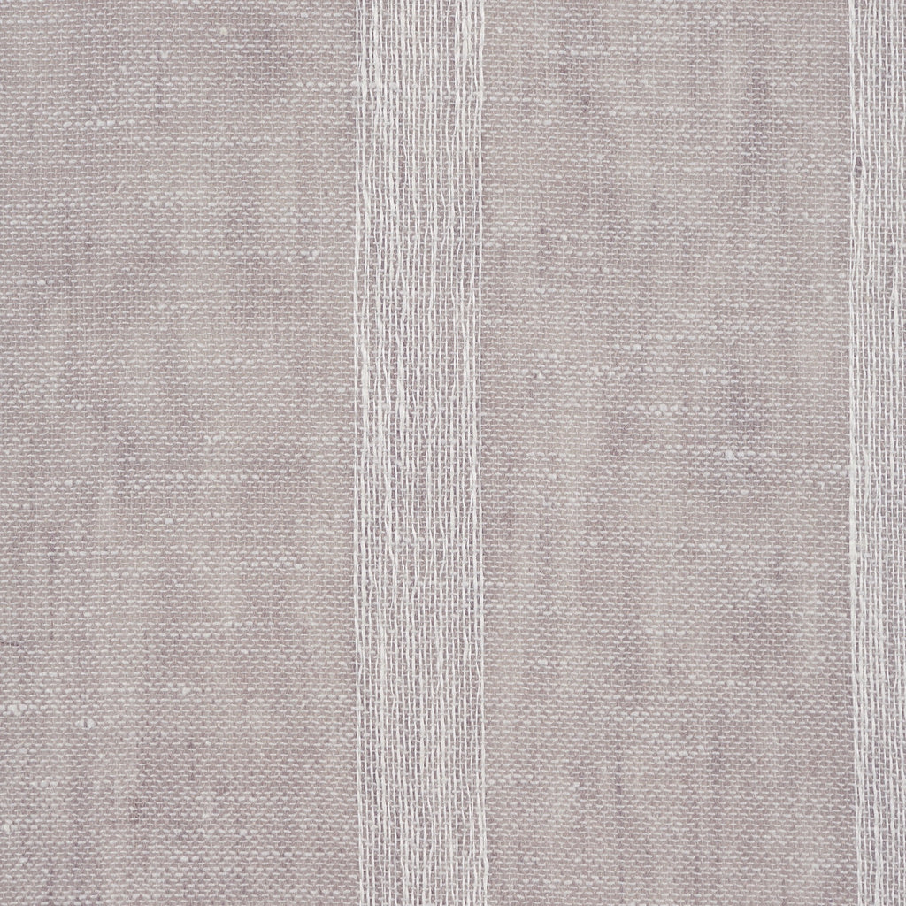 Purity Voiles Wide Stripe - Silver/Ivory - Harlequin