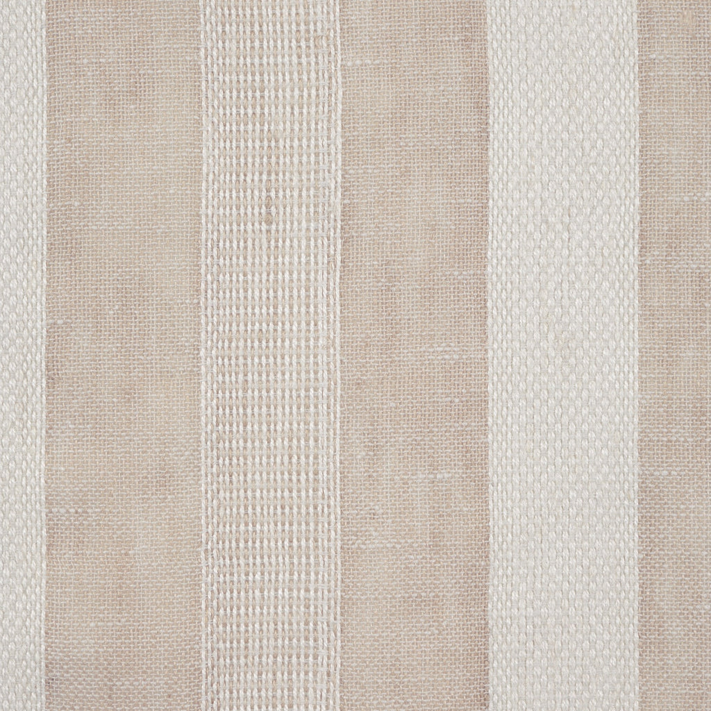 Purity Voiles Wide Stripe - Hemp/Ivory - Harlequin