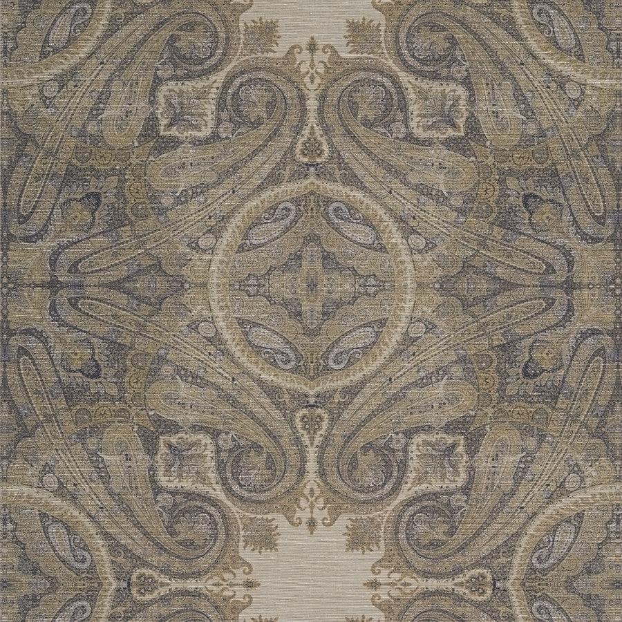 Elswick Paisley Wallpaper - Sunstone - Zoffany