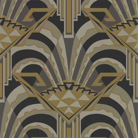 Conway Wallpaper - Antique Bronze - Zoffany