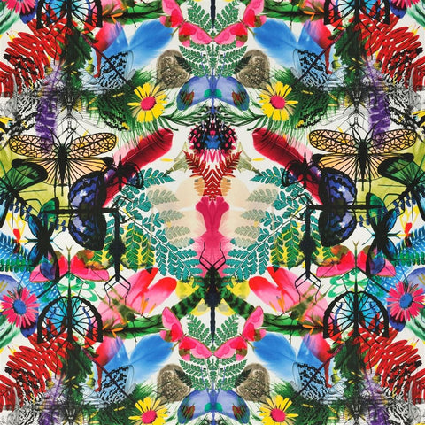 Caribe Fabric - Perroquet - Christian Lacroix