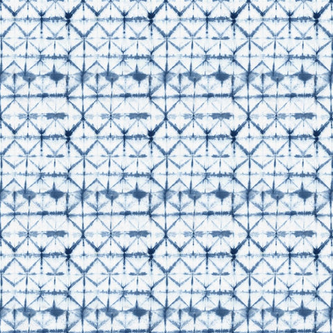 Seraya Outdoor Fabric - Indigo - Designers Guild