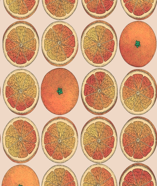 Cole & Son - Arance Wallpaper - Orange