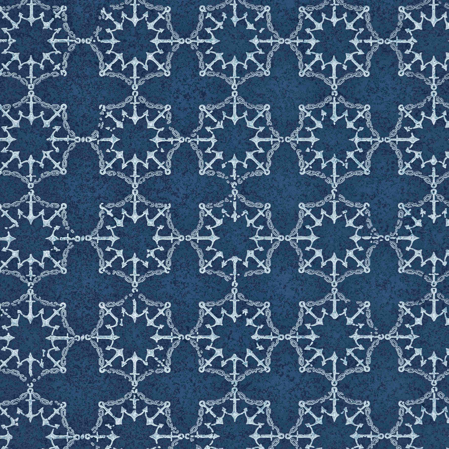 Anchor Tile Wallpaper - Barneby Gates