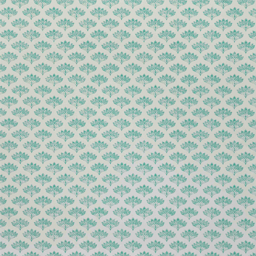 Peacock Wallpaper - Grey - Barneby Gates