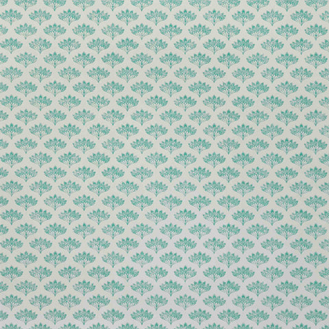 Peacock Wallpaper - Teal - Barneby Gates