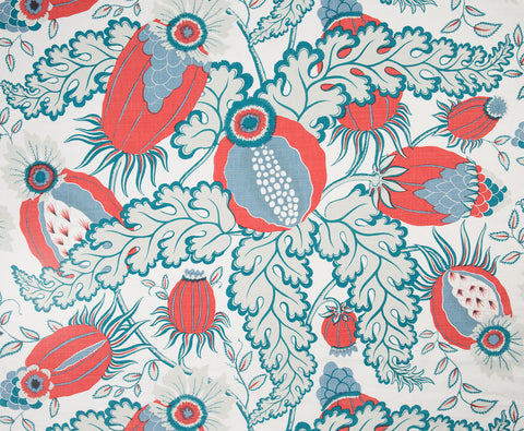 Carnival fabric - Blueberry - Christopher Farr
