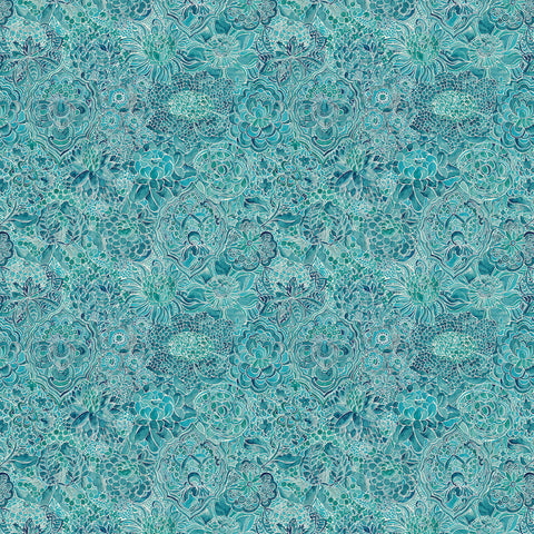 Clay Fabric - Seaflower - Blendworth