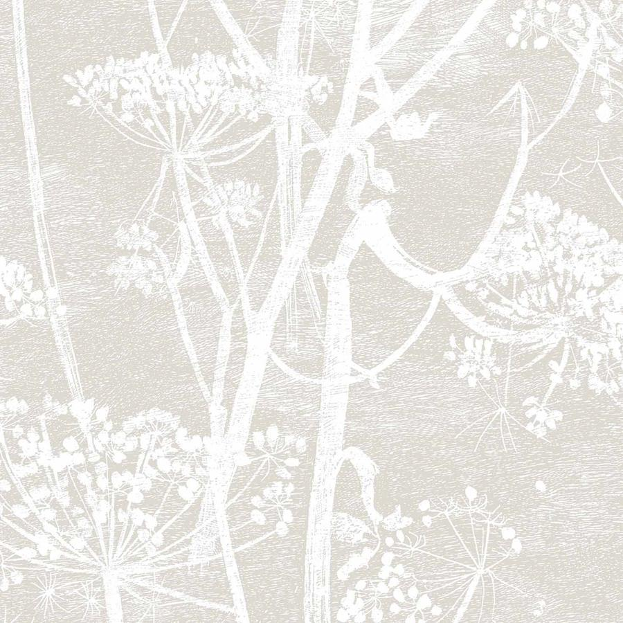 Cow Parsley Wallpaper - White on White - Cole & Son