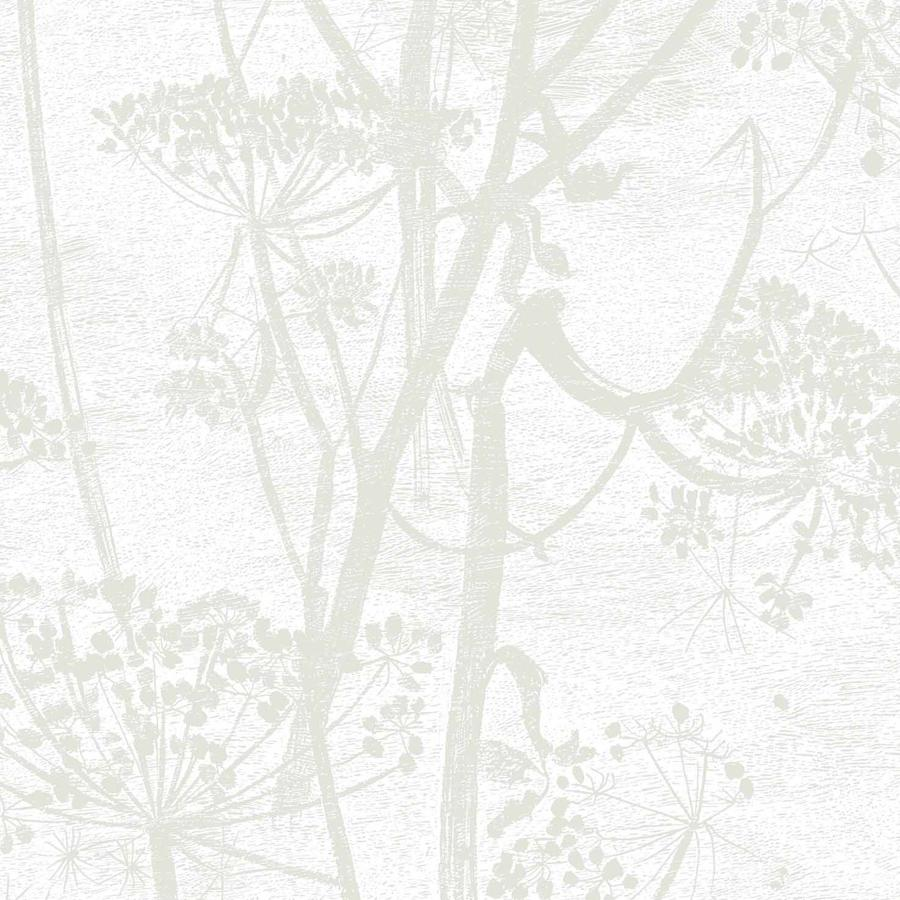 Cow Parsley Wallpaper - Straw on White - Cole & Son