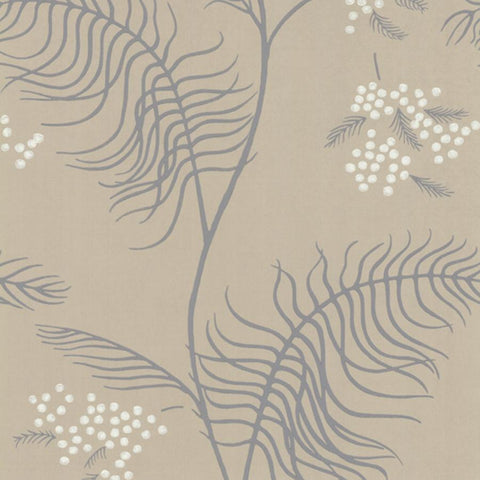 Mimosa Wallpaper - Red & Brown - Cole & Son