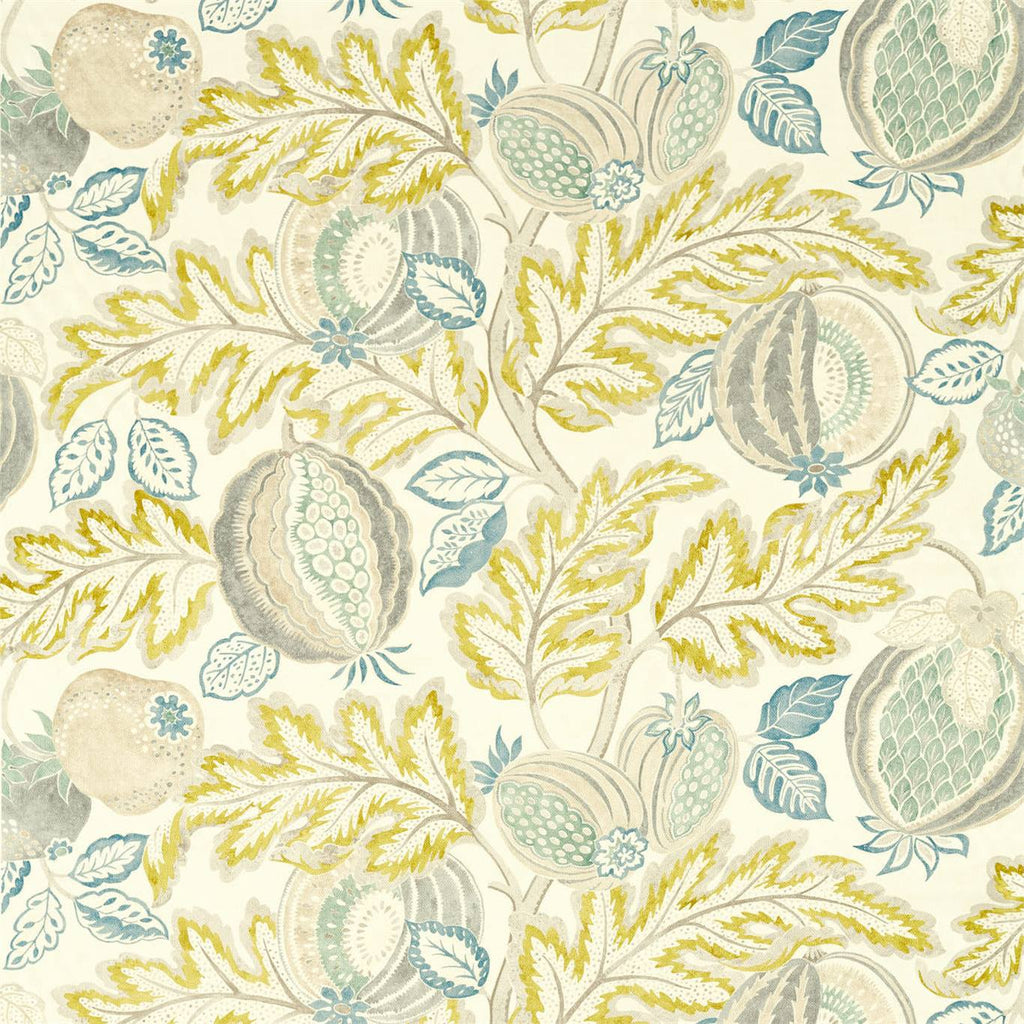 Cantaloupe Fabric - Blush/Dove - Sanderson