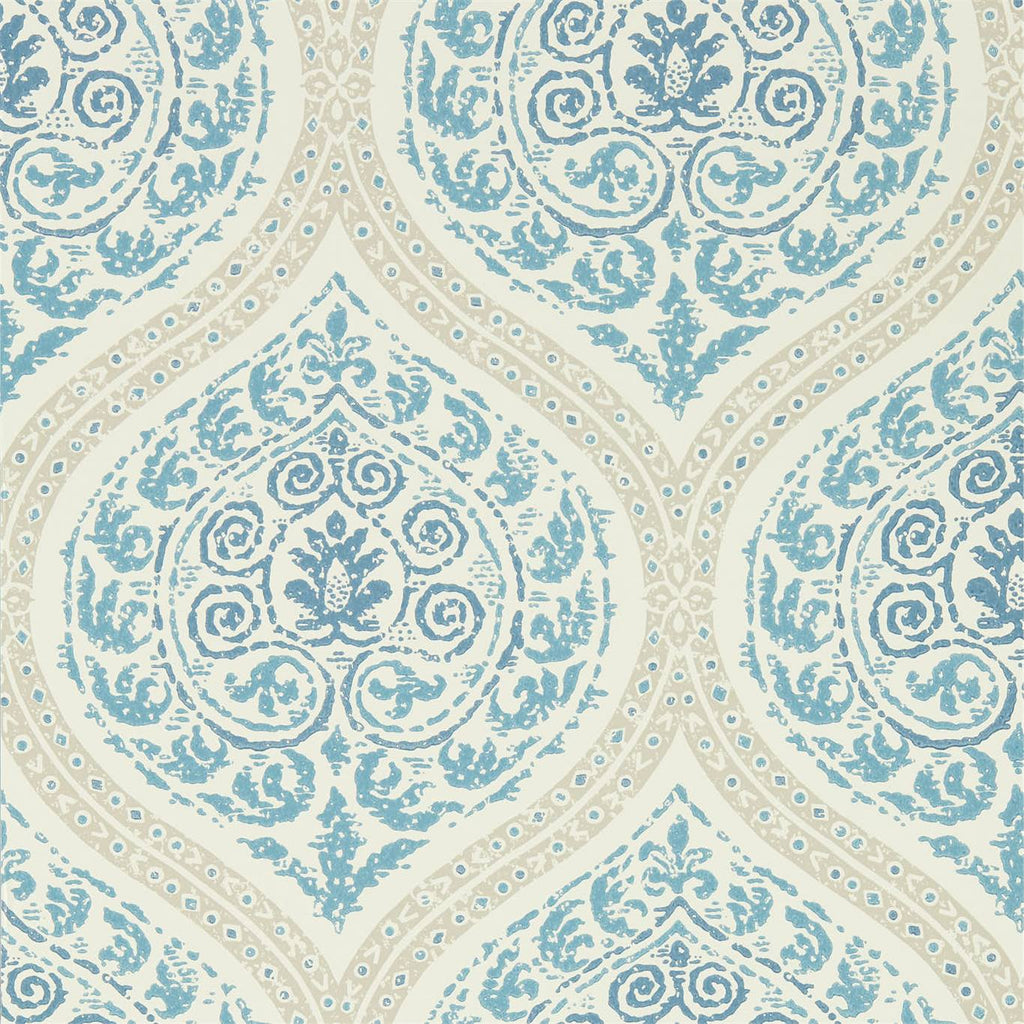 Madurai Wallpaper - Lemon - Sanderson