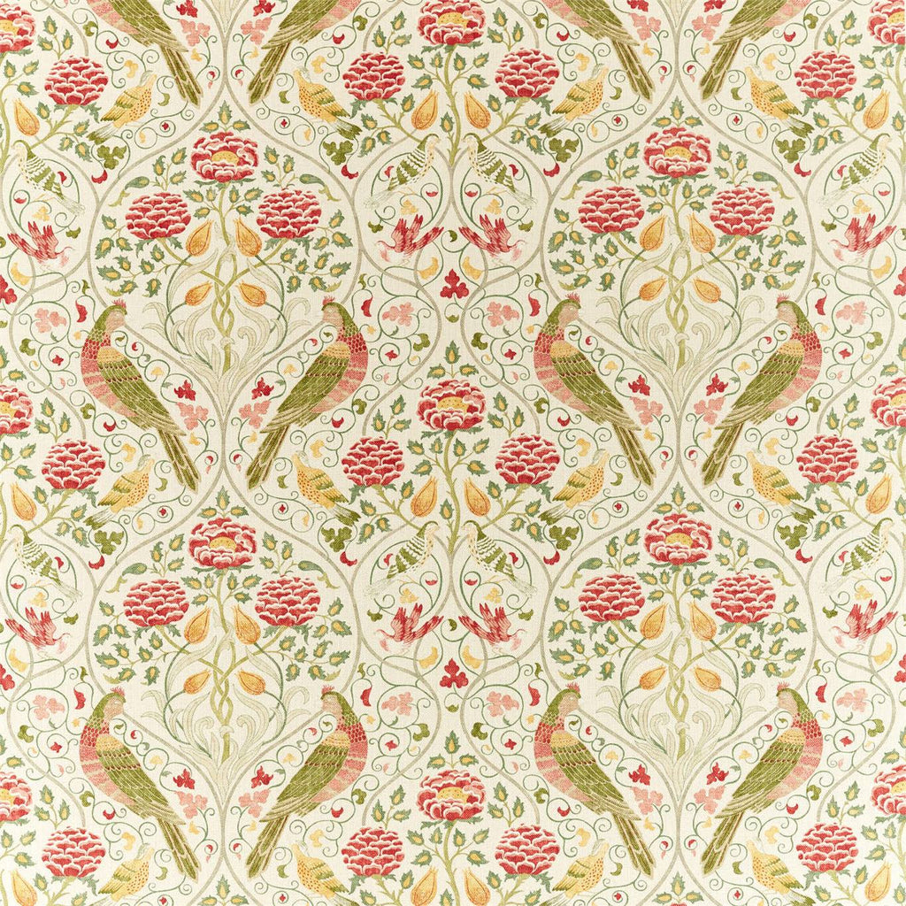 Seasons By May Fabric - Saffron - William Morris