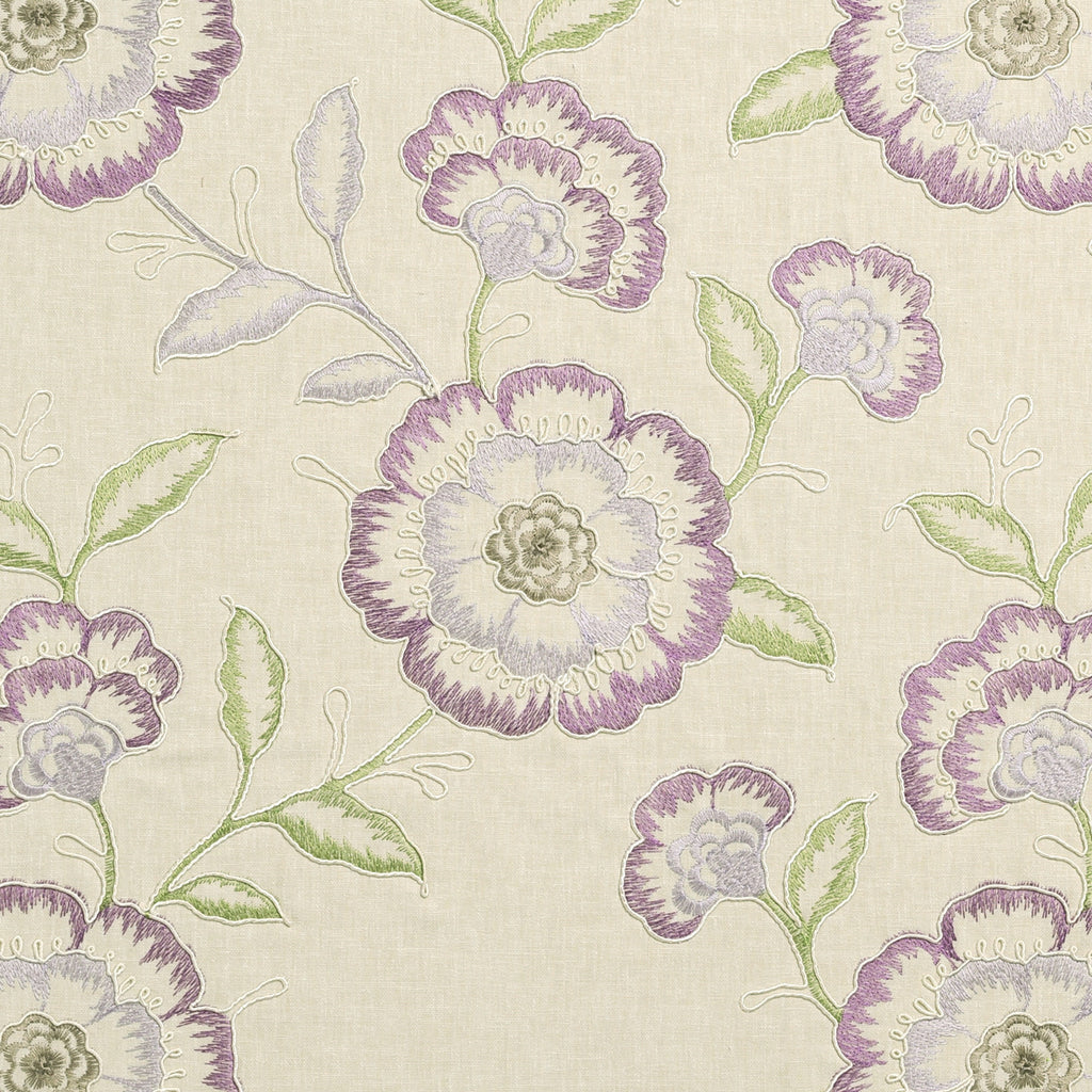 Richmond Fabric - Raspberry/Duckegg - Clarke & Clarke