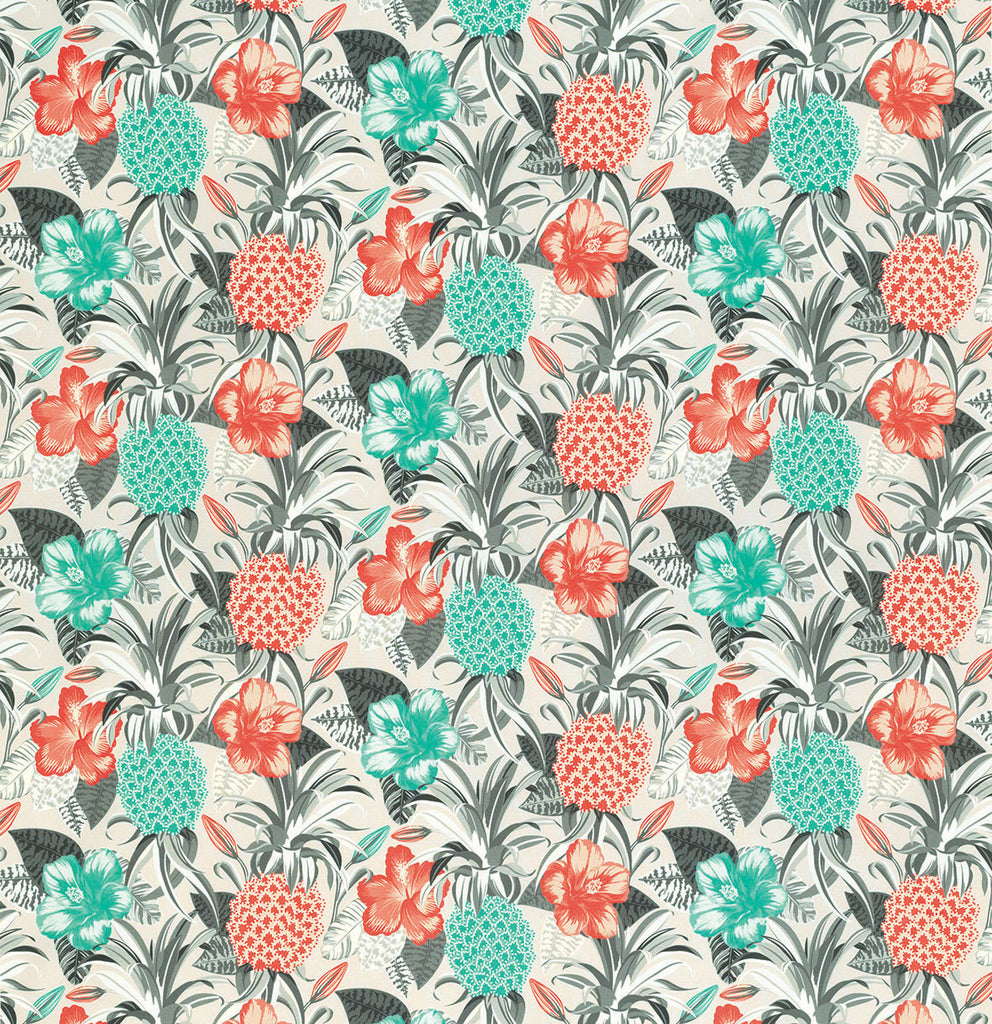 Pina Colada Outdoor Fabric - F6880-02 - Osborne & Little