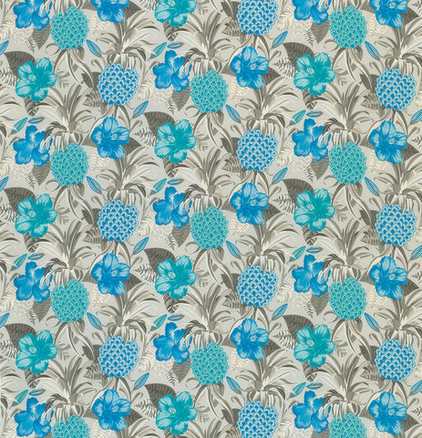 Pina Colada Outdoor Fabric - F6880-04 - Osborne & Little