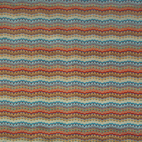 Carnival Fabric - Blue - Osborne & Little