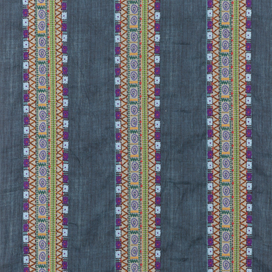 Bedouin Stripe Fabric - Mulberry Home