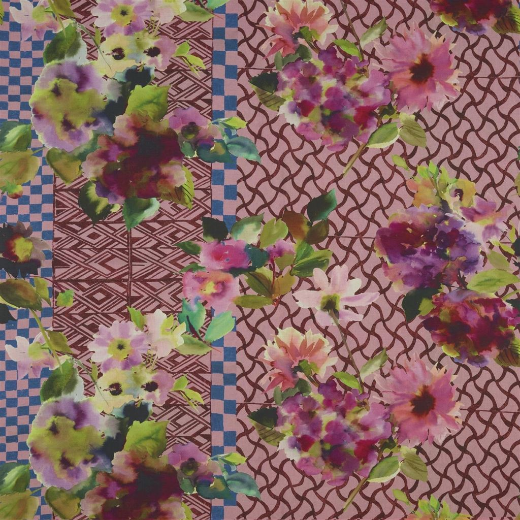 Jaipur Rose Fabric - Designers Guild