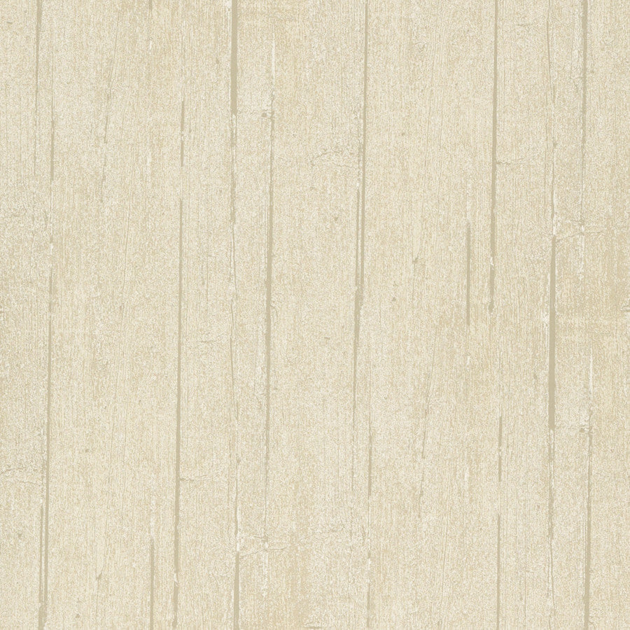 Wood Panel Wallpaper - Parchment - Mulberry Home