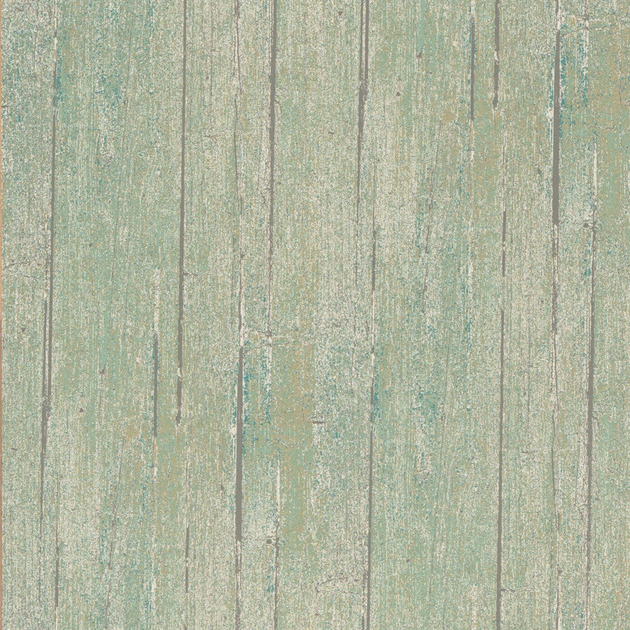 Wood Panel Wallpaper - Lichen - Mulberry Home