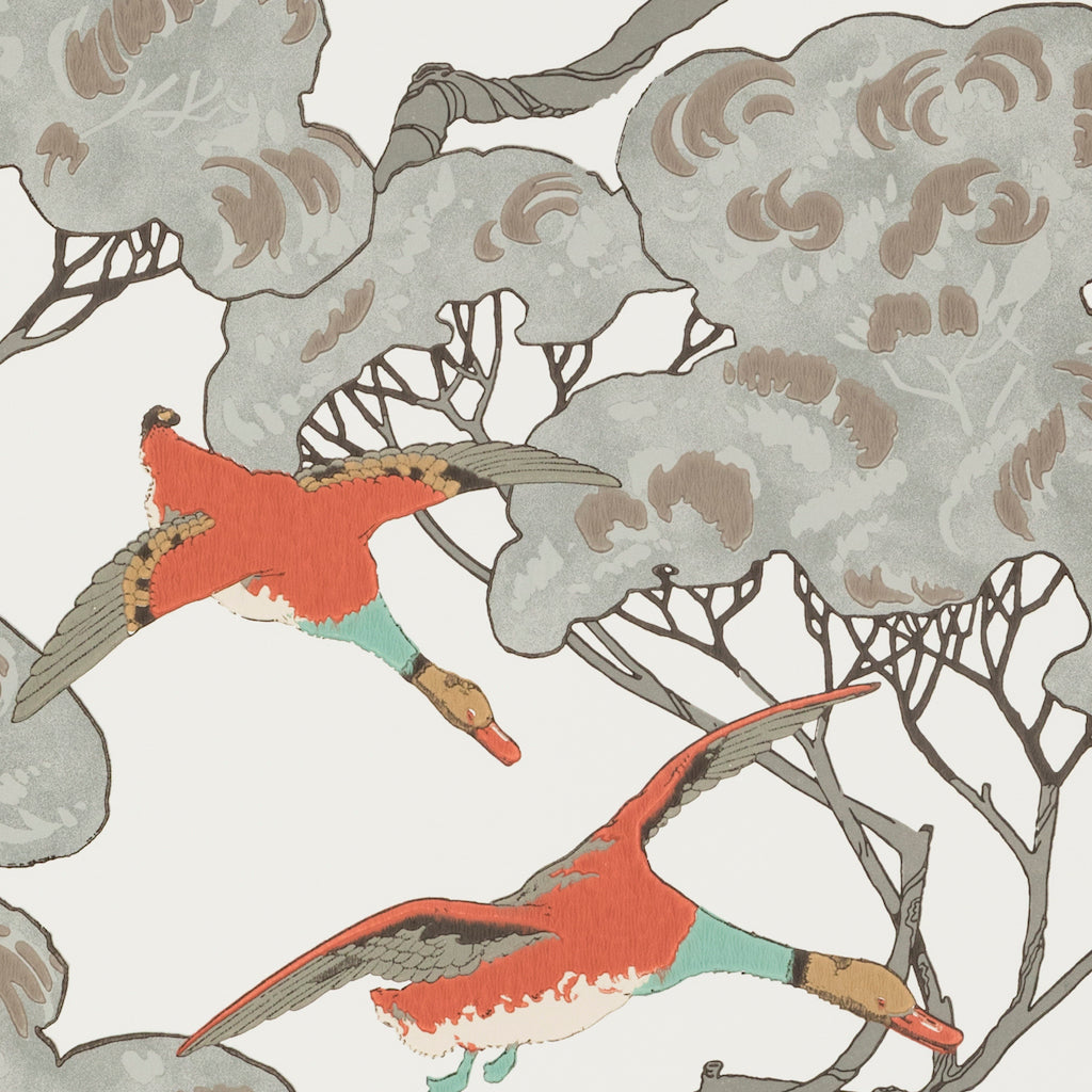 Flying Ducks Wallpaper - Mulberry Home