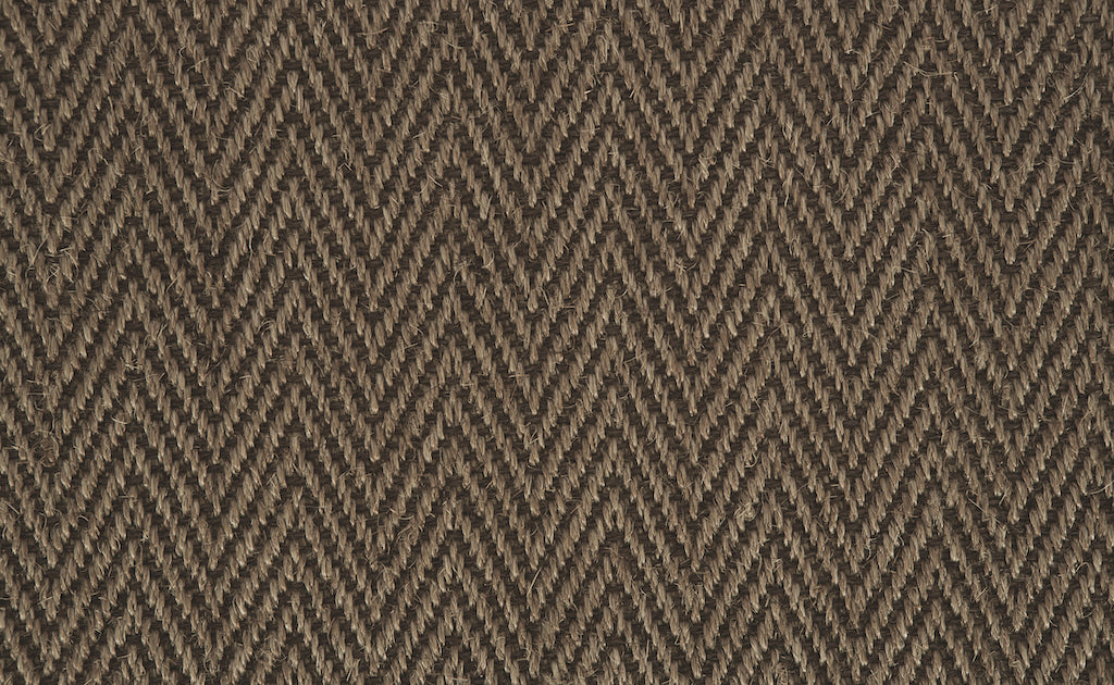 Grand Herringbone Carpet - Chesnut - Crucial Trading