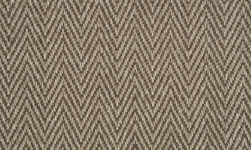 Grand Herringbone Carpet - Light Ash - Crucial Trading