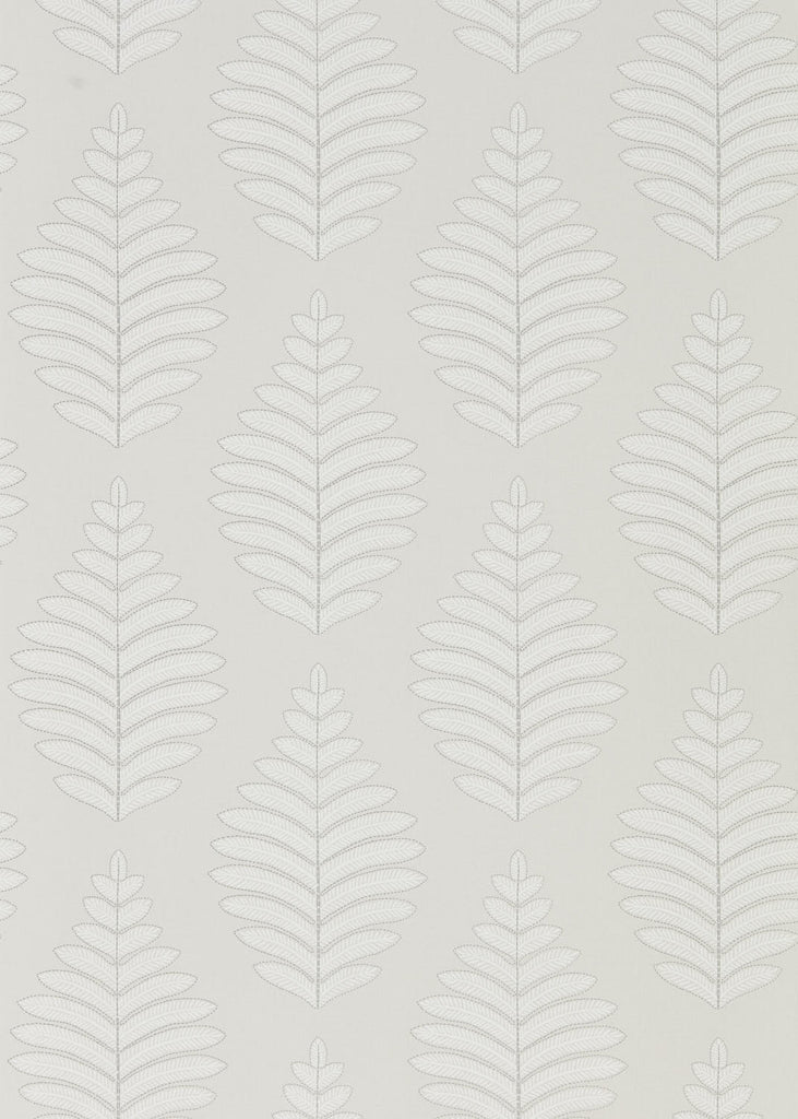 Lucielle Wallpaper - Pearl French Grey - Harlequin