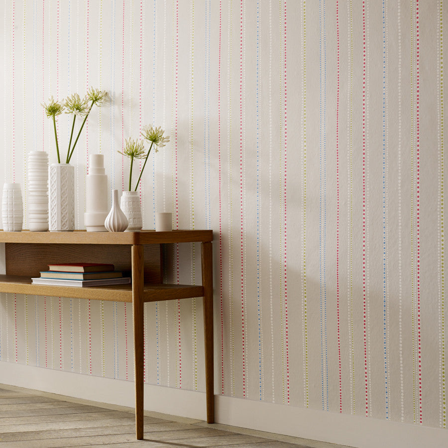 Sanderson Abacus Stripe Wallpaper Mister Smith Interiors