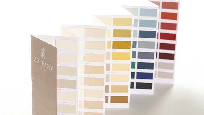 Paint Chart - Zoffany