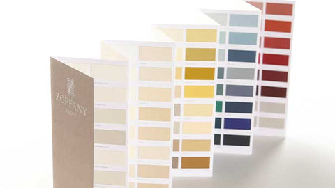 Paint Chart - Multi - Zoffany