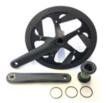 ST3 / ST5 Crankset 1x11 170mm-Spare Part-Stromer UK