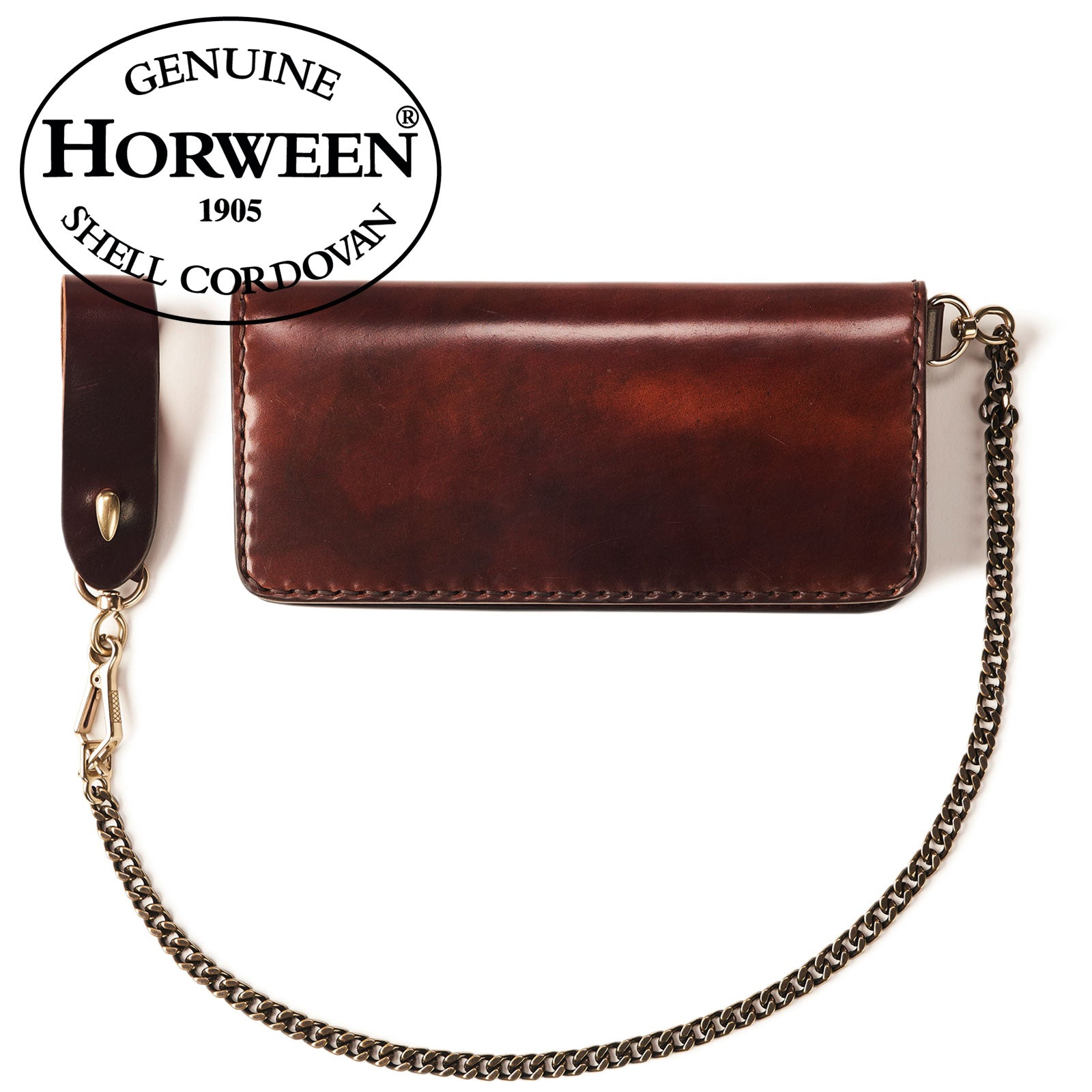 Horween Shell Cordovan Long Wallet No.9