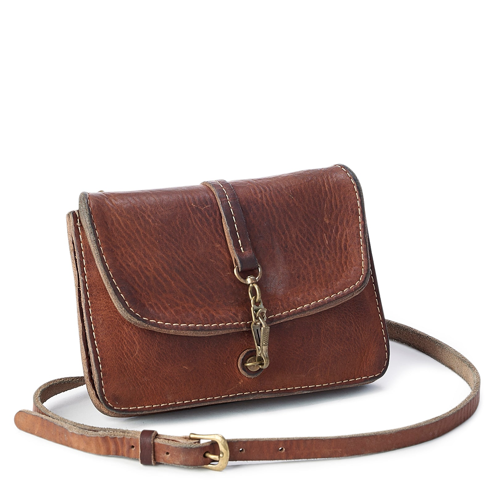 Vintage Stone-Washed Crossbody #201