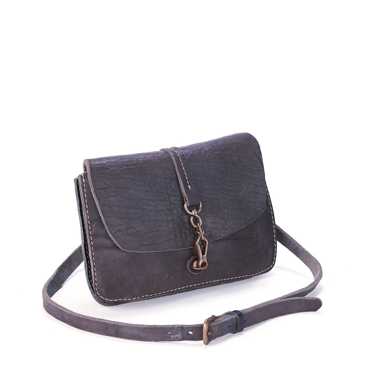 Vintage Stone-Washed Indigo Crossbody #201